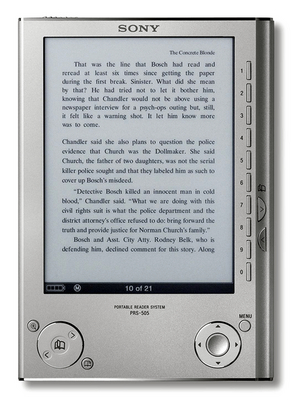 Sony PRS 505 eBookreader